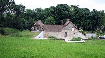 Création d'un nouvel espace autour de fruitiers en Normandie